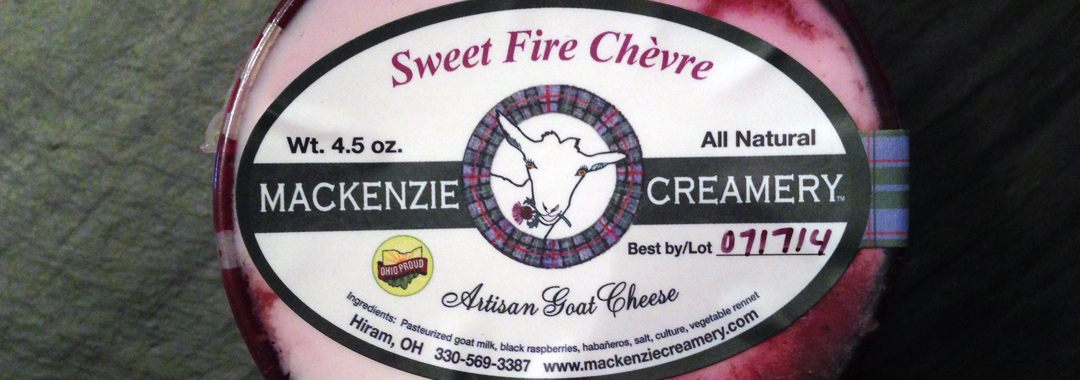 Local Lunch: Mackenzie Creamery Sweet Fire Chèvre