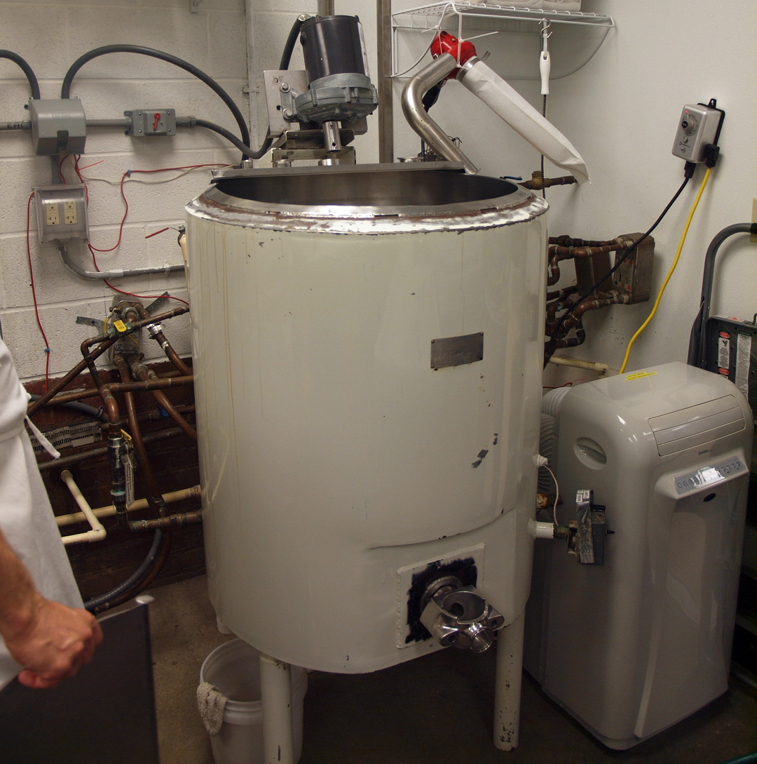 My Visit to Lake Erie Creamery: Pasteurizer