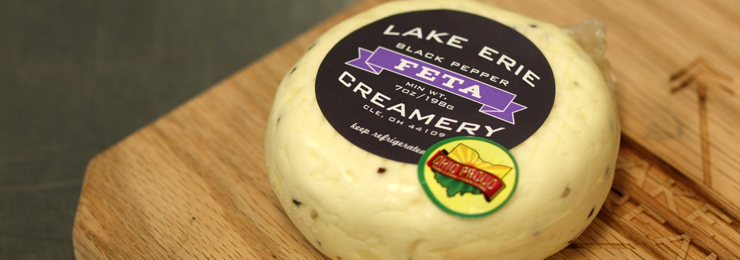 My Visit to Lake Erie Creamery: Cracked Black Pepper Feta