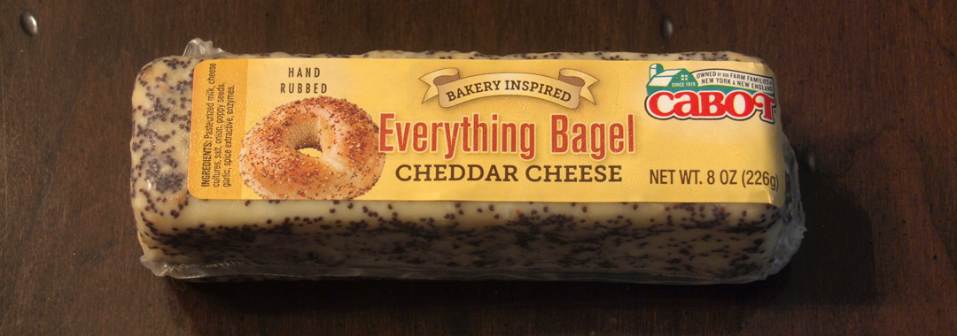 Everything Bagel Grilled Cheese: Everything Bagel Cheddar Cheese