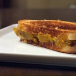 Sweet Dumpling Squash Grilled Cheese