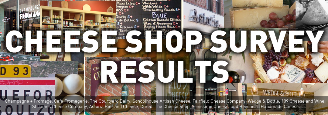 Cheese Shop Survey Results