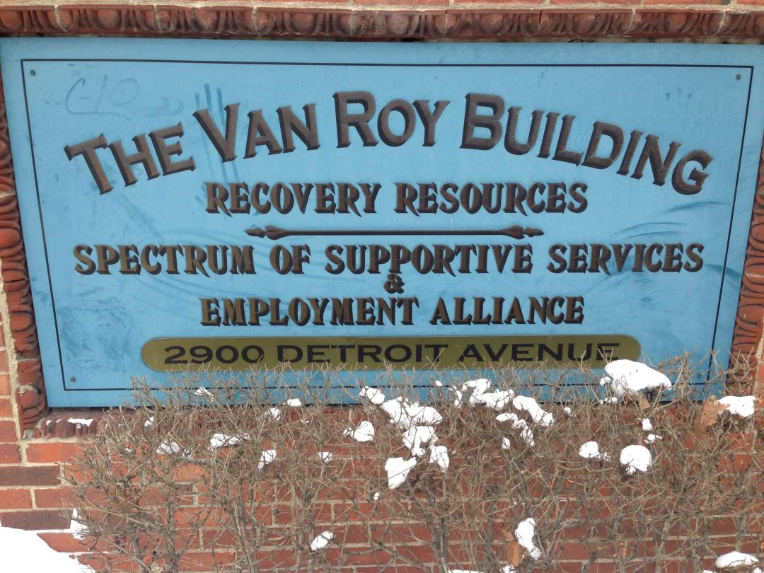 Hingetown - The Van Roy Building