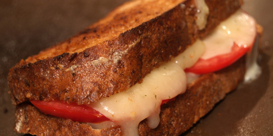 An Upgraded Grilled Cheese
