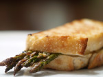 Asparagus & Lemon Pepper Vinaigrette Grilled Cheese