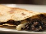 Russ Parsons & SippitySups Mushroom Quesadilla