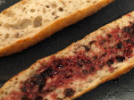 Pomegranate Reduction Grilled Cheese