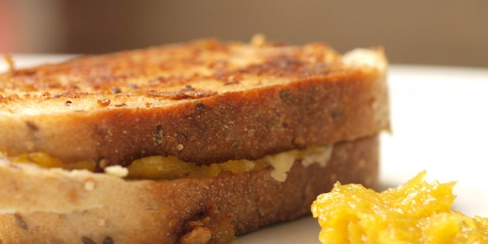 Delicata Squash Grilled Cheese