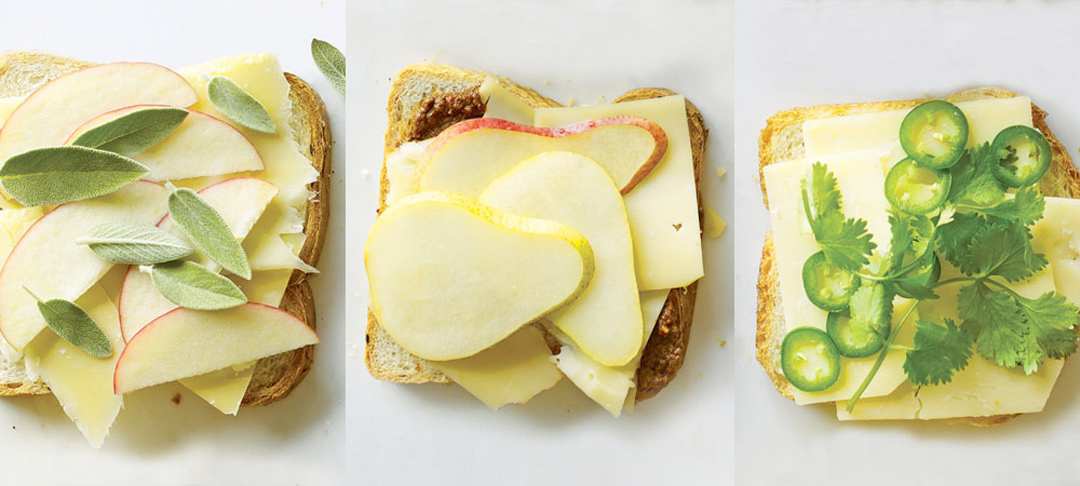 Martha Stewart's 'Grown-Up Grilled Cheese Sandwiches'
