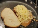 Gruyere & Gorgonzola w/Hazelnut Butter Grilled Cheese