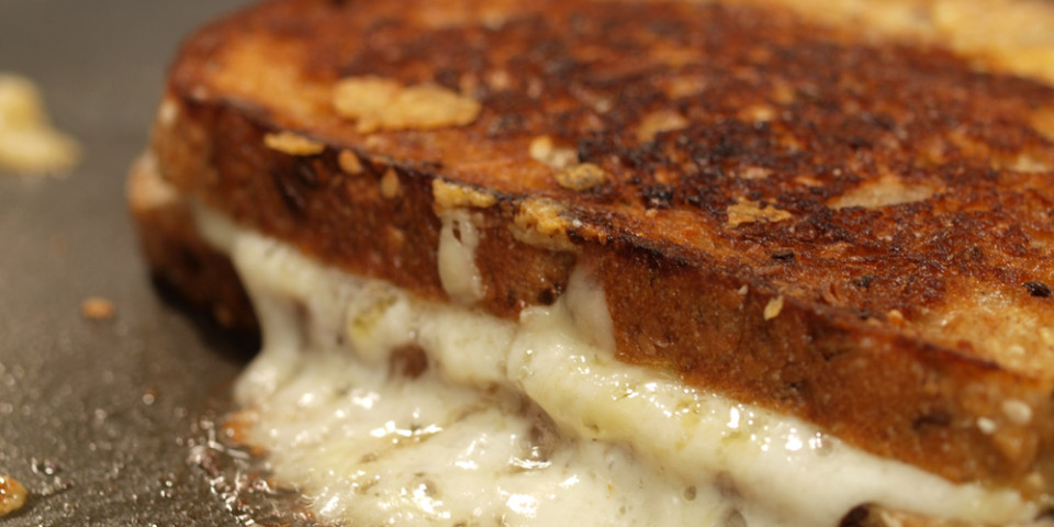 Quadrello di Bufala Grilled Cheese