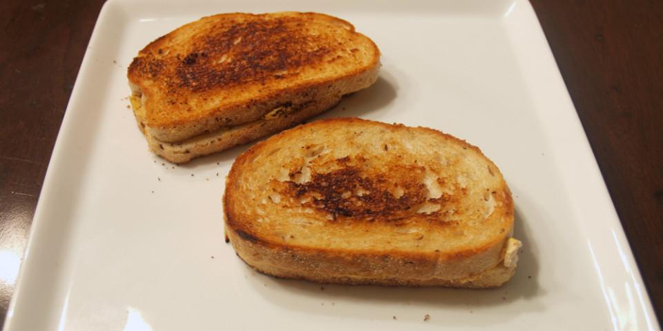Mackenzie Creamery's Toasted Pumpkin Chevre Grilled Cheese