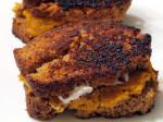 Butternut Squash & Pumpkin Bread Grilled Cheese