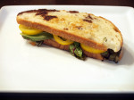 Balsamic Drizzled Mixed Greens Grilled Cheese