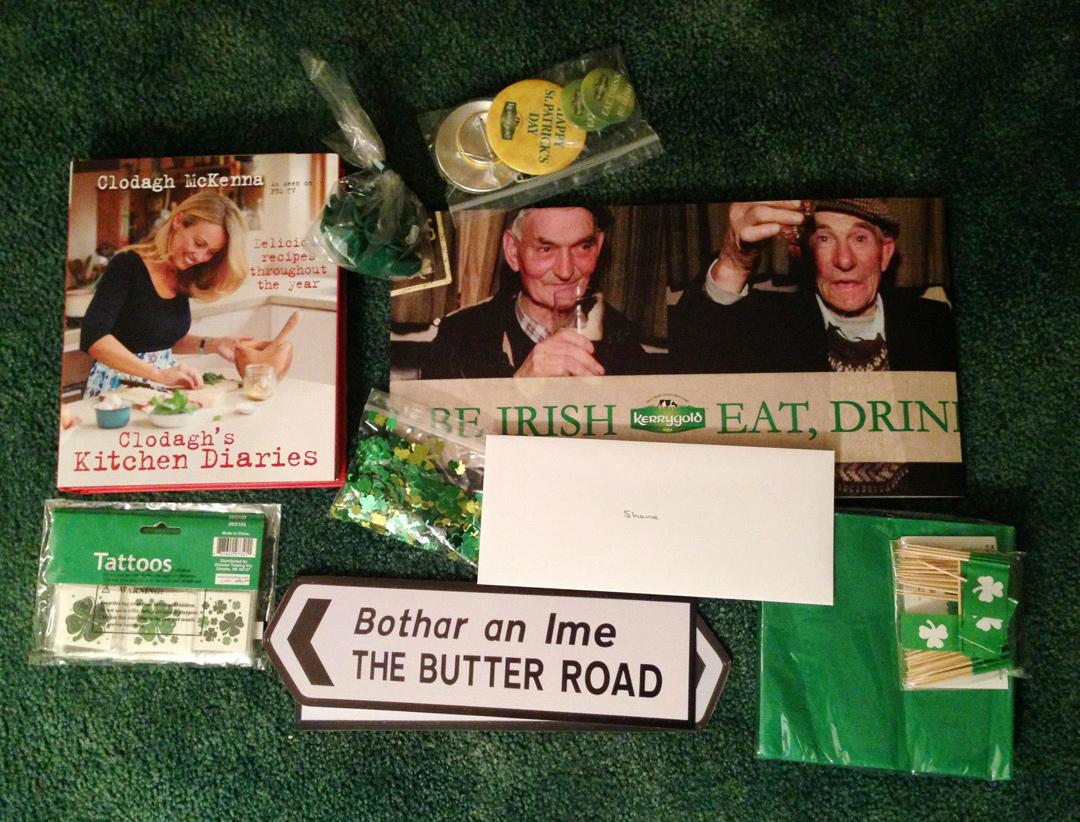 St. Patrick's Day Irish Soda Bread Grilled Cheese
