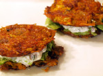 Root Vegetable Fritter Grilled Cheese