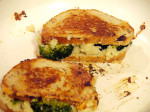 Cauliflower Purée & Cabot Grilled Cheese