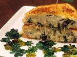 St. Patricks Day Kale & Potato Grilled Cheese
