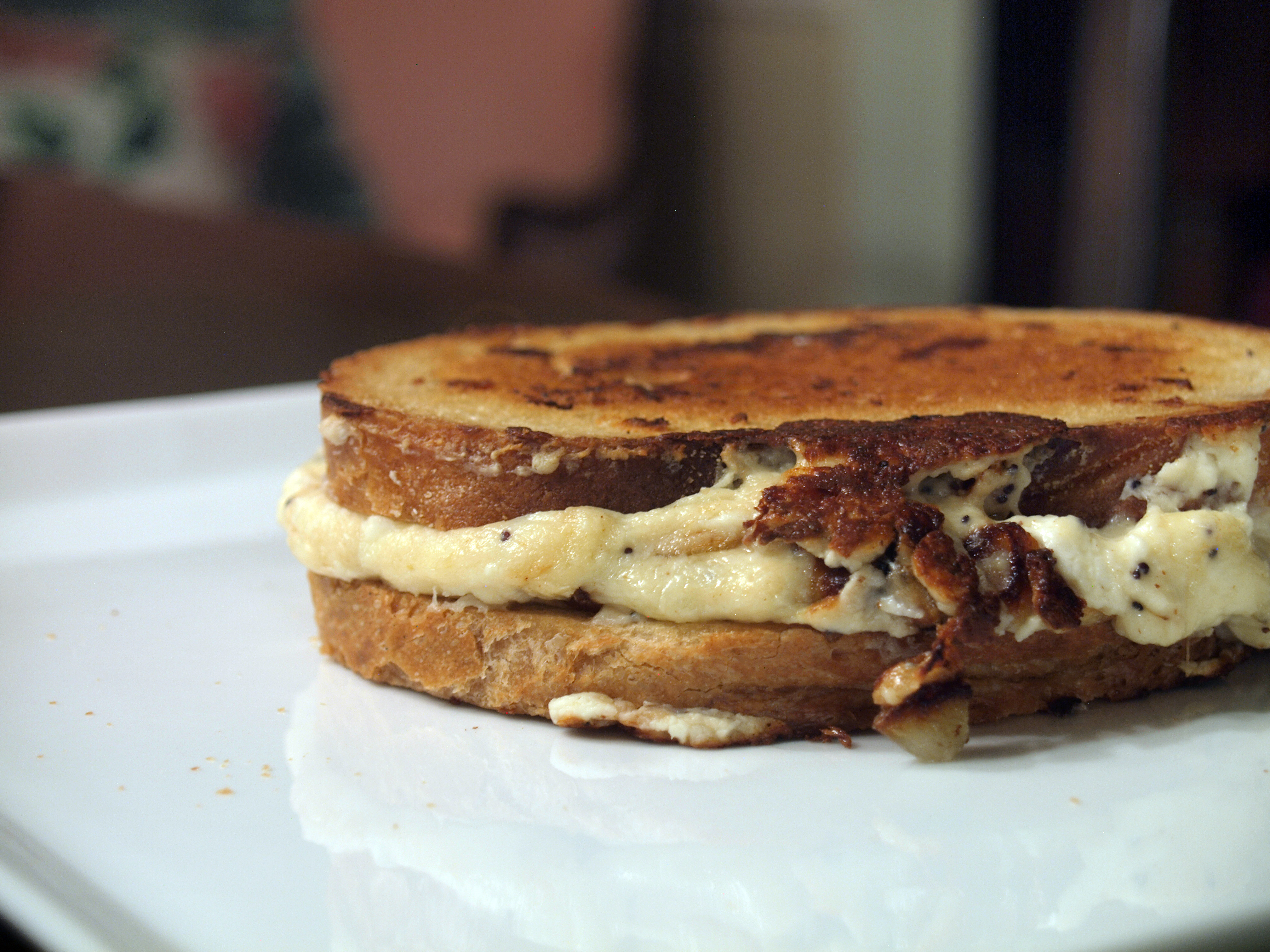 Everything Bagel Grilled Cheese
